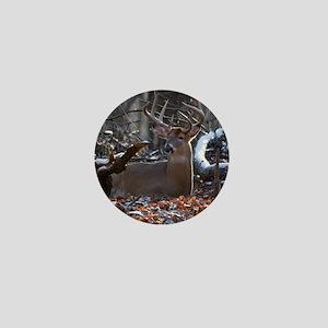 Bedded Buck D1342-021 Mini Button