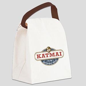 Katmai National Park Canvas Lunch Bag