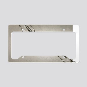 Plagiarism, conceptual image License Plate Holder