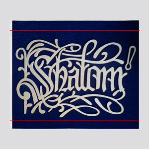 SHALOM (Produced by Moses Ashola) Throw Blanket