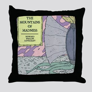 MOUNTAINS OF MADNESS POSTER Throw Pillow