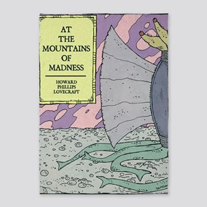 MOUNTAINS OF MADNESS POSTER 5'x7'Area Rug