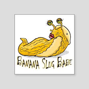 "slugbabe2a Square Sticker 3"" x 3"""