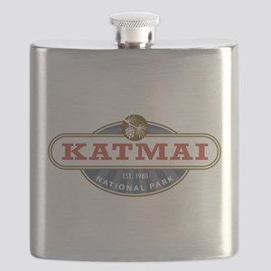Katmai National Park Flask