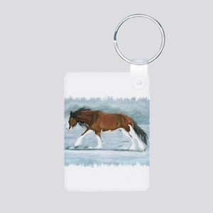 Clydesdale Keychains