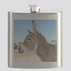Miniature Donkey Flask