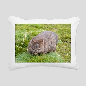 Wombat Rectangular Canvas Pillow