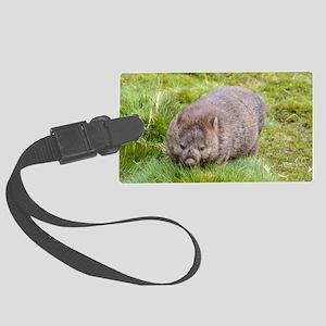 Wombat Large Luggage Tag