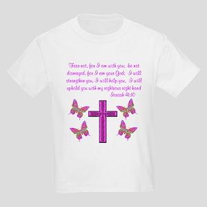 ISAIAH 41:10 Kids Light T-Shirt