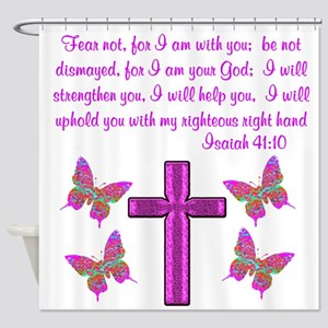 ISAIAH 41:10 Shower Curtain
