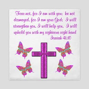 ISAIAH 41:10 Queen Duvet