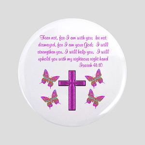 "ISAIAH 41:10 3.5"" Button"