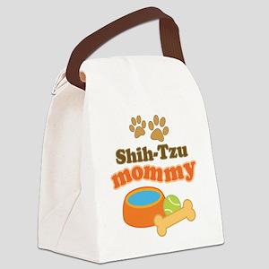 Shih-Tzu Mommy Canvas Lunch Bag