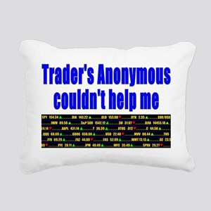 Traders anonymous couldn Rectangular Canvas Pillow