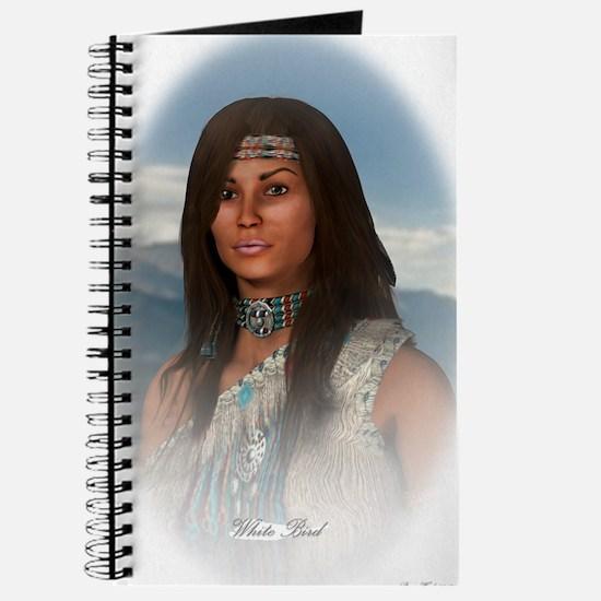 White Bird oval Journal