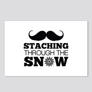 Staching Through The Snow Postcards (Package of 8)