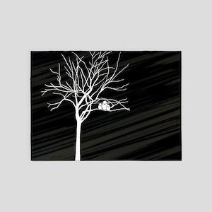 t-shirt men_Winter Tree 5'x7'Area Rug