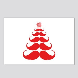 Stache-tastic Holidays Postcards (Package of 8)