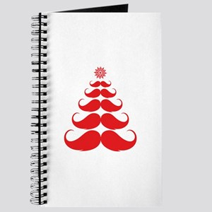 Stache-tastic Holidays Journal