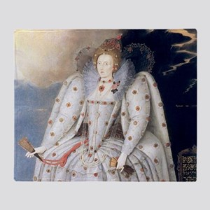 Elizabeth I Throw Blanket