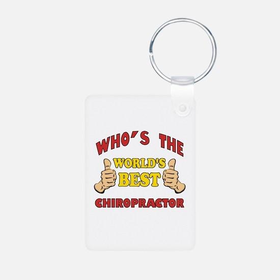 Thumbs Up Worlds Best Chiropractor Keychains