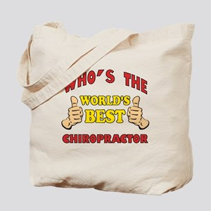 Thumbs Up Worlds Best Chiropractor Tote Bag