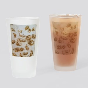 Study for Animals Drinking Glass