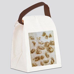Study for Animals Canvas Lunch Bag