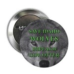 Save Idaho Wolves Button