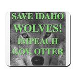 Save Idaho Wolves Mousepad