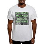 Save Idaho Wolves Ash Grey T-Shirt
