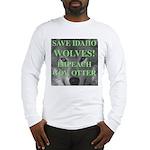 Save Idaho Wolves Long Sleeve T-Shirt