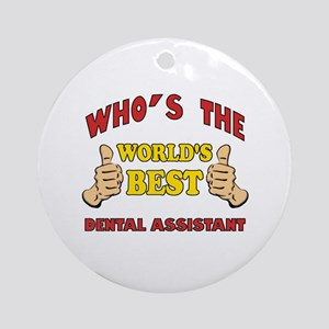 Thumbs Up Worlds Best Dental Assistant Ornament (R