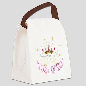 Yoga Queen Canvas Lunch Bag