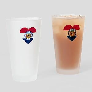 I Love Joplin -dk Drinking Glass