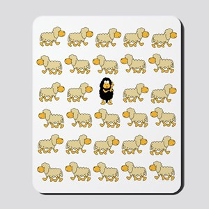 A Sheep with Attitude Mousepad