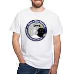 Bowling Blind Squirrel White T-Shirt