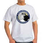 Bowling Blind Squirrel Light T-Shirt