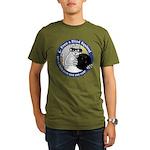 Bowling Blind Squirrel Organic Men's T-Shirt (dark