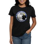 Bowling Blind Squirrel Women's Dark T-Shirt