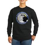 Bowling Blind Squirrel Long Sleeve Dark T-Shirt