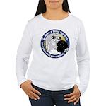 Bowling Blind Squirrel Women's Long Sleeve T-Shirt