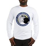 Blind squirrel bowling Long Sleeve T-shirts