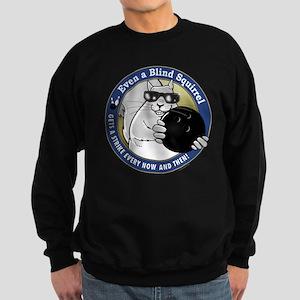 Bowling Blind Squirrel Sweatshirt (dark)