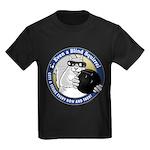 Bowling Blind Squirrel Kids Dark T-Shirt