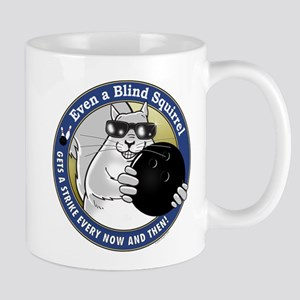 Bowling Blind Squirrel Mug
