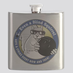 Bowling Blind Squirrel Flask