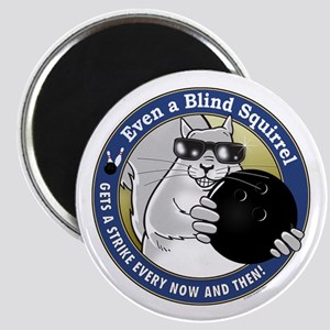 Bowling Blind Squirrel Magnet