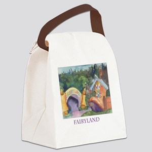 tote.fairyland Canvas Lunch Bag