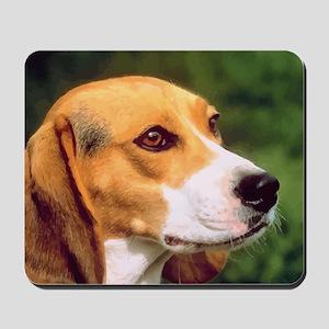 Cute Beagle Mousepad